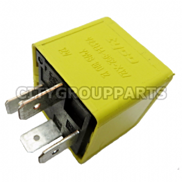 ROVER MG LAND ROVER YELLOW RELAY YWB10012 V23134-B52-X127 12V SIEMENS/ TYCO
